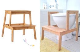 Kmart step hack for toilet training a toddler | Mum's Grapevine