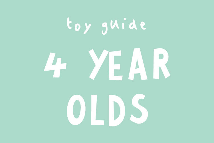 Toys for 4 year olds based on developmental milestones
