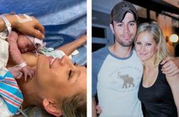 Anna Kournikova and Enrique Iglesias baby three