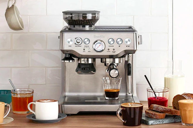 Gift ideas for mums: Breville Barista Express Coffee Machine