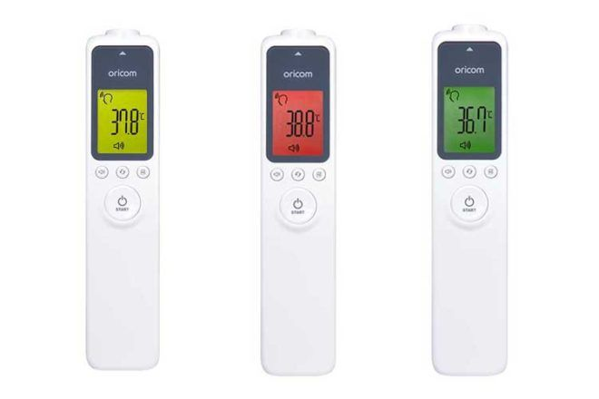 Oricom Non-Contact HFS100 Thermometer for baby