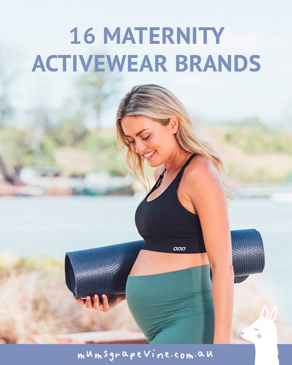 16 best maternity activewear brands for every budget | Mum's Grapevine