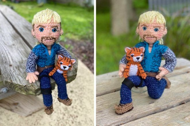 Gift ideas for mums: Tiger king crochet