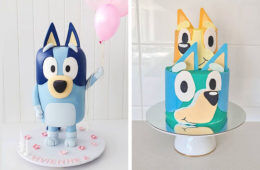 Bluey birthday cakes