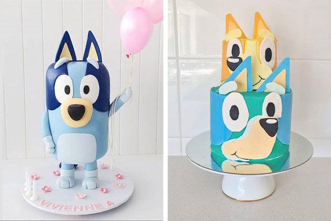 Bluey birthday cakes
