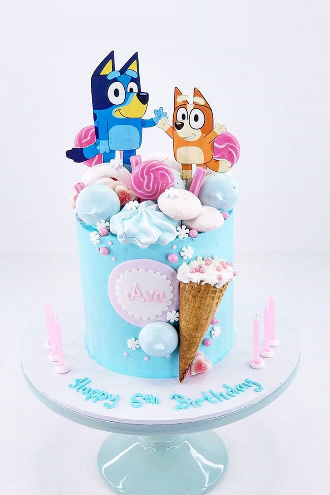 Bluey cake Cake of Your Dreams