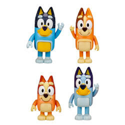 Bluey cake toppers figurines