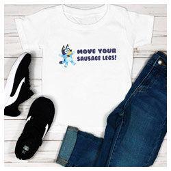 Bluey tshirt