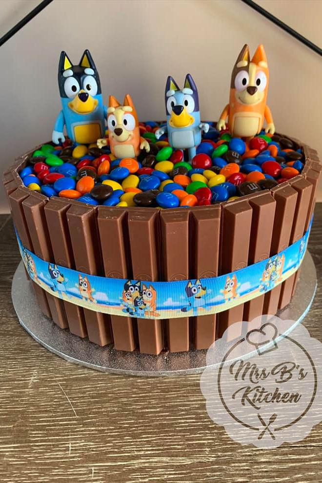 Easy Bluey Cake Mrs Bs Kitchen