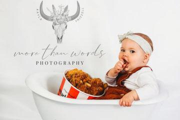 Mum throws baby a KFC cake smash for first birthday | Mum's Grapevine