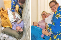 Diary of an accidental home birth | Mum's Grapevine