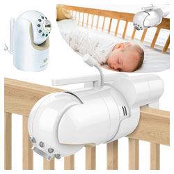 Baby monitor mount bracket