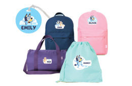 Personalised Bluey backpacks