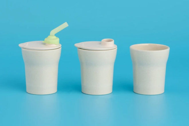 Sippy Cups: Bonnsu Miniware 1 2 3 sippy cup