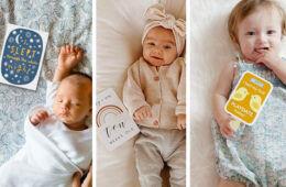Best Baby Milestone Cards | Mum's Grapevine