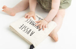 Aussi Animal baby book by Fawn & Finch