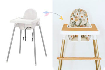 IKEA high chair hacks