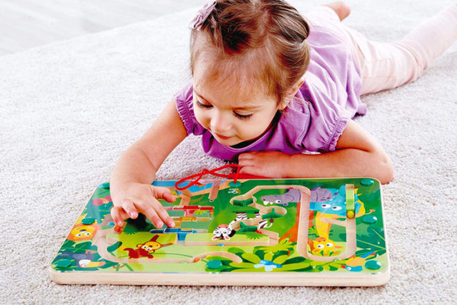 Best Toys for 2 Year Olds: Hape Jungle Maze