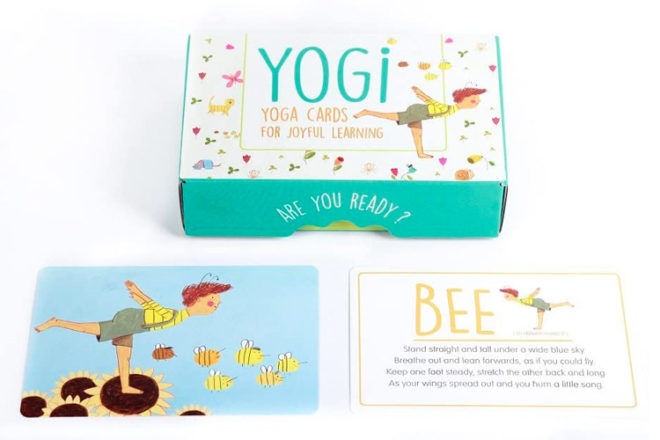 Best Gifts and Toys for 3 Year Olds: Yogi FUN Kids Yoga Cards