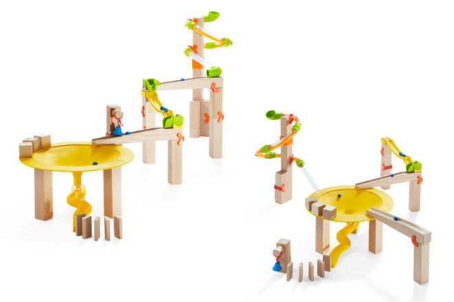 Best Gifts and Toys for 4 Year Olds: Haba Ball Track Funnel Jungle