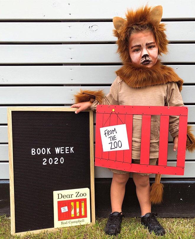 Dear Zoo Book Week costume