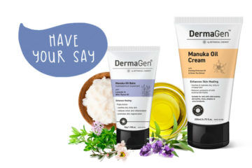 DermaGen Manuka balm and oil