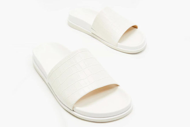 Best gifts for new mums: Atmos&Here Zoe Leather Slides