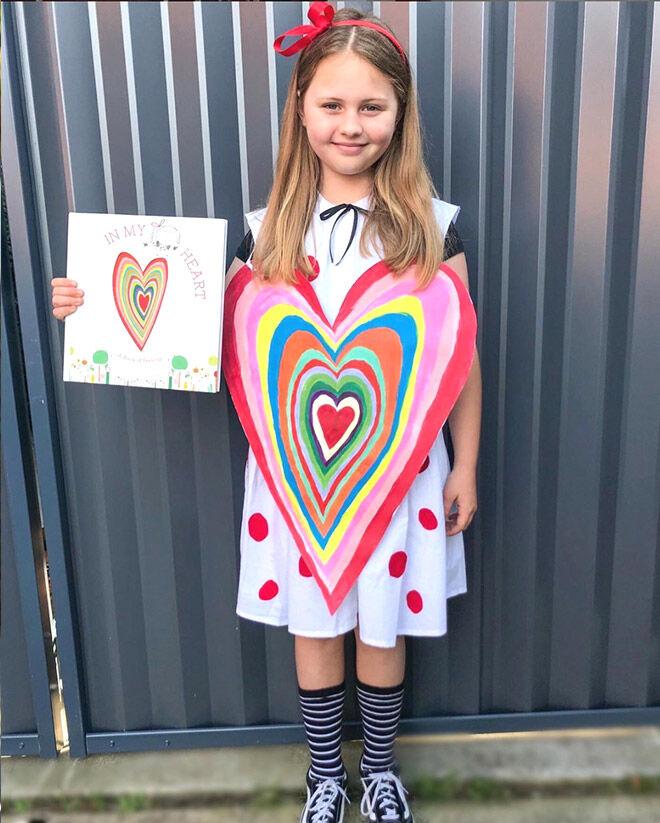 In My Heart book week costume