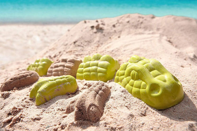 Beach and Pool Toys: Haba Monster Sand Mould