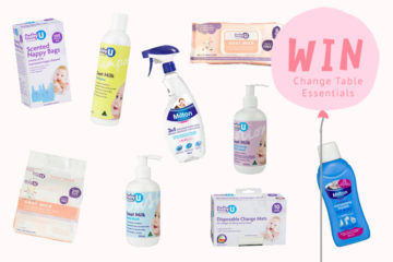 Win 1 of 3 Change Table essentials prize packs
