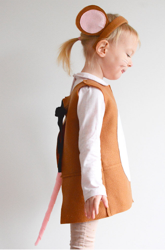 The Gruffalo mouse Book Week costume