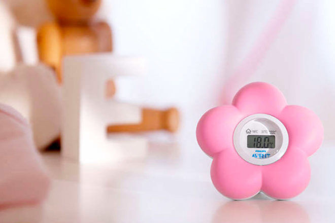 Baby Room Thermometer: Philips AVENT Digital Bath and Room Thermometer