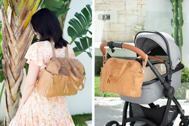 Best Nappy Bag: Hannah & Henry Chelsea Convertible Tote | Mum's Grapevine