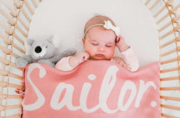 8 best personalised blankets for keeping baby snug | Mum's Grapevine