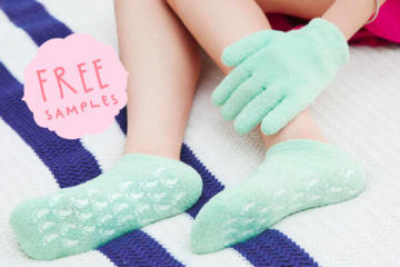 free samples: revive socks and gloves
