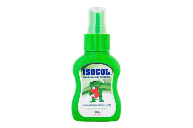 Changing Table Checklist: Isocol Hand Sanitiser Spray