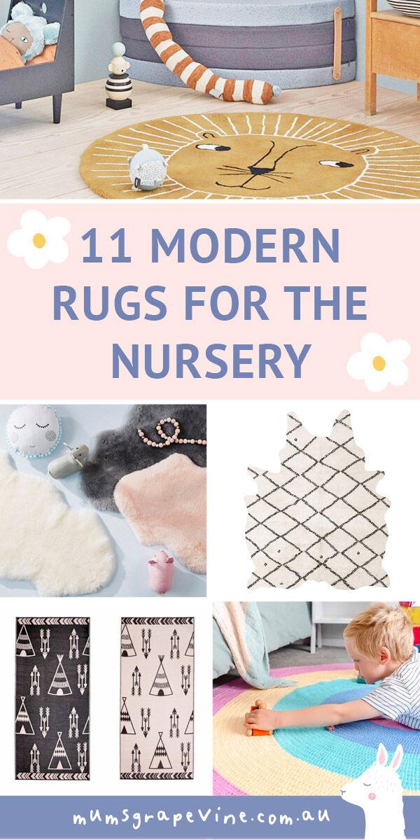 11 best nursery rugs for baby's room   Mum's Grapevine