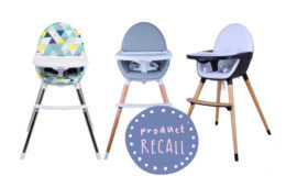 CNP Brands high chair recall