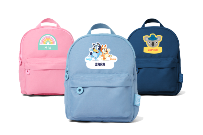 Stuck On You Toddler Backpack