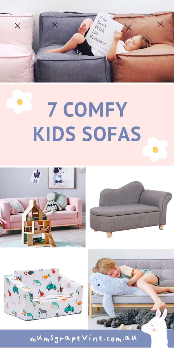 7 cute kids sofas | Mum's Grapevine