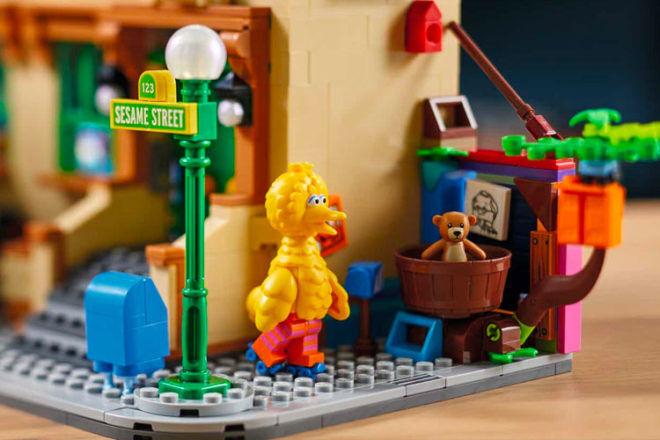 LEGO Sesame Street characters