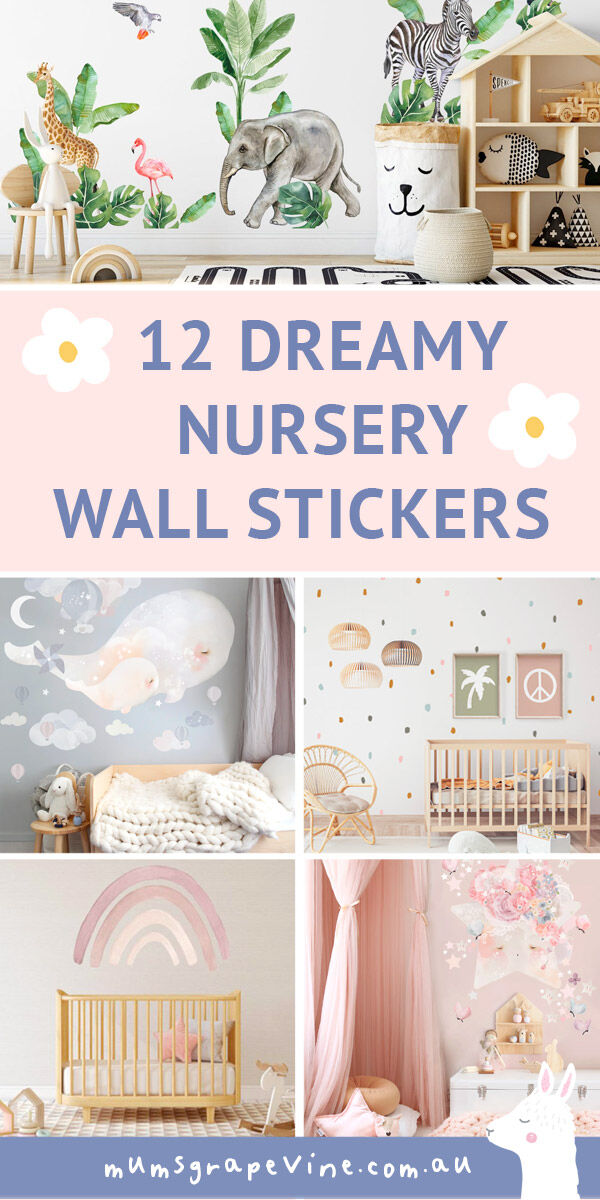 12 best nursery wall stickers for 2021 | Mum's Grapevine