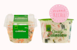 Woolworths Coleslaw recall due to salmonella fears