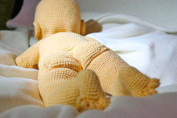 Crochet Baby bare