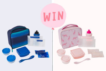 Win Hedrin back to school lunch bags