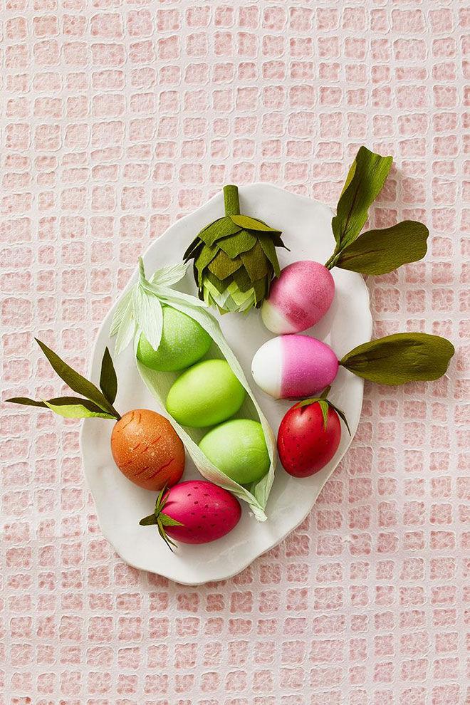 Easter Egg Decorations Vegetables - Good Housekeeping