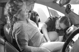 Katie Kinna Car Birth Story