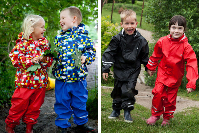 Elka raincoats and waterproof pants