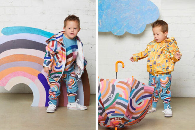Rachel Castles x Gorman Kids Raincoats