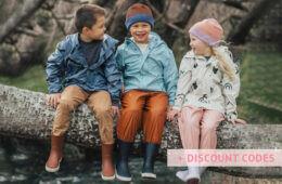 Kids raincoats discount codes